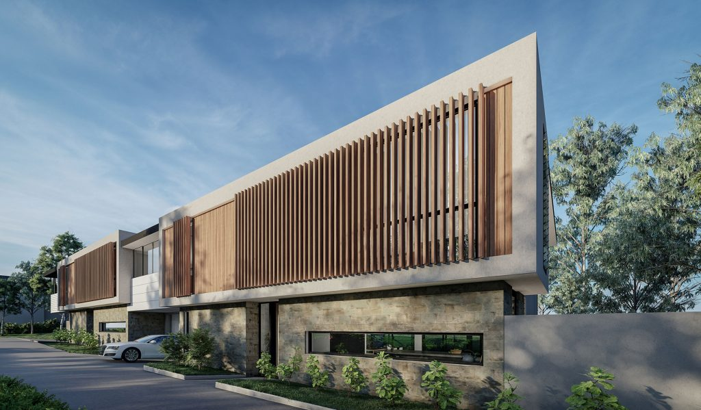 couvaras architects dual occupancy exterior front