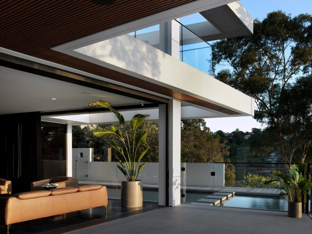 couvaras architects oyster bay house exterior swimming pool outdoor area