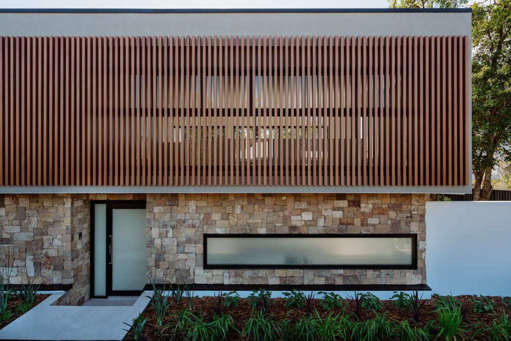couvaras architects dual occupancy exterior entrance
