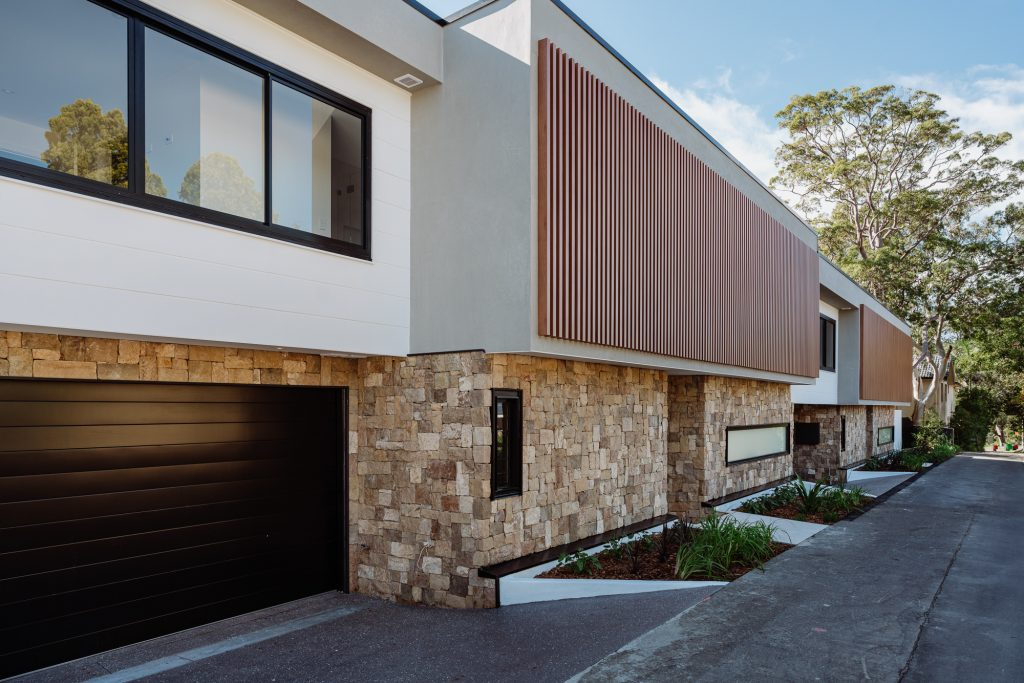 couvaras architects dual occupancy exterior