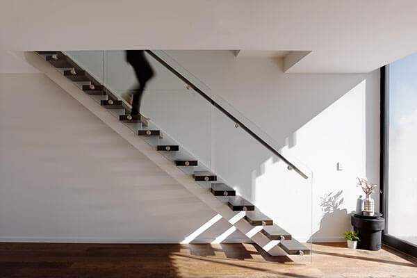 Staircase Design for townhouses