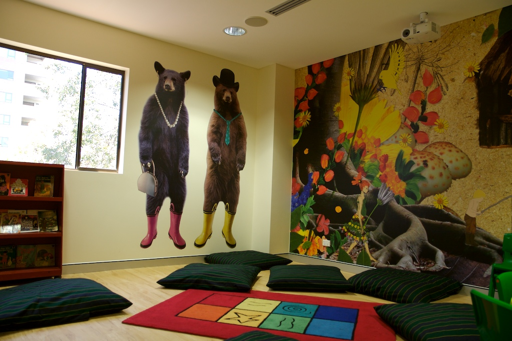 couvaras architects church interior kids room